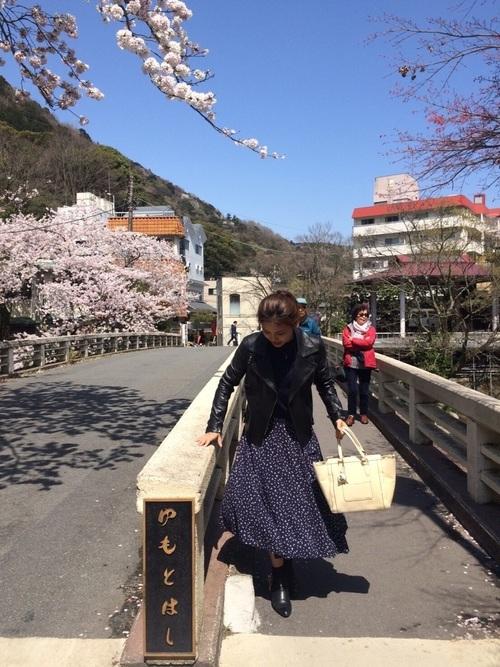 箱根の春コーデ