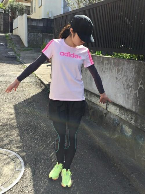 春のマラソンの服装