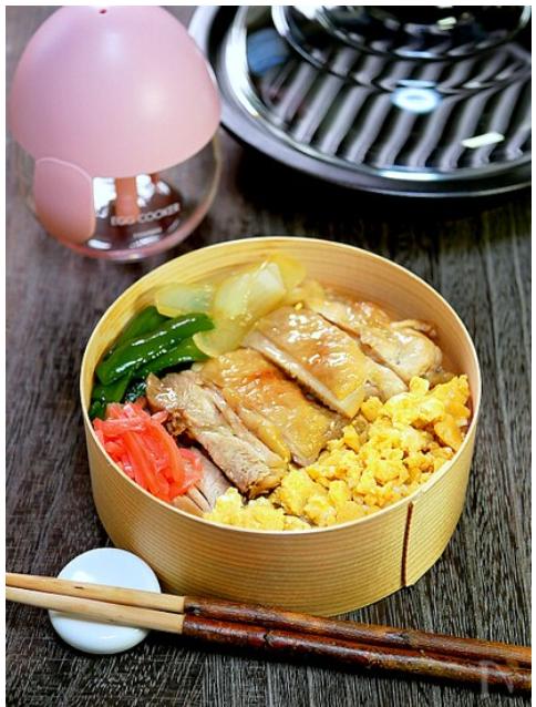 鶏の漬け焼き弁当
