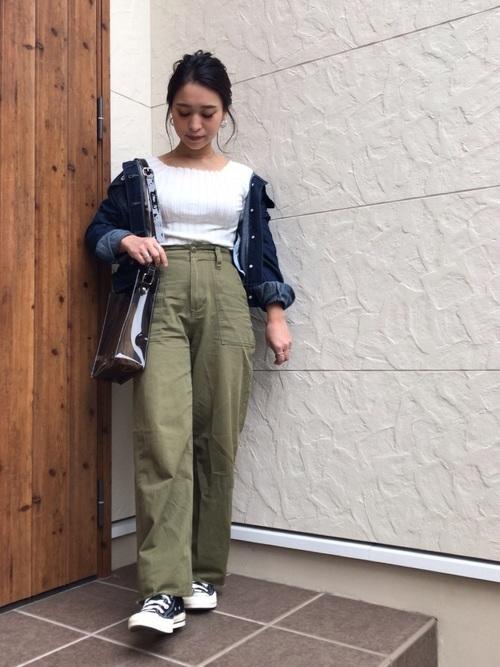 陶芸をする日におすすめの服装【6】