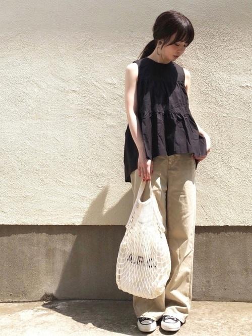 陶芸をする日におすすめの服装【9】
