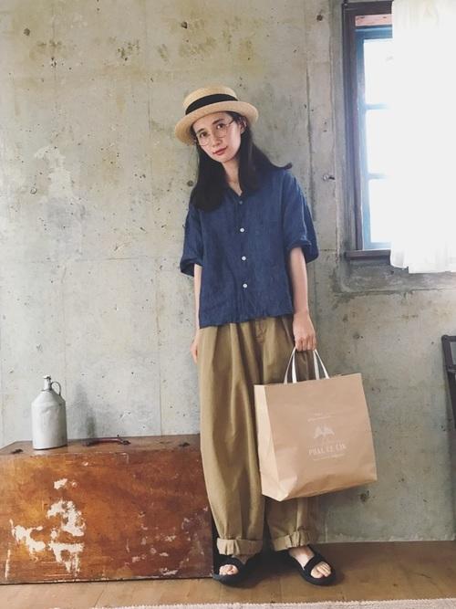 陶芸をする日におすすめの服装【2】