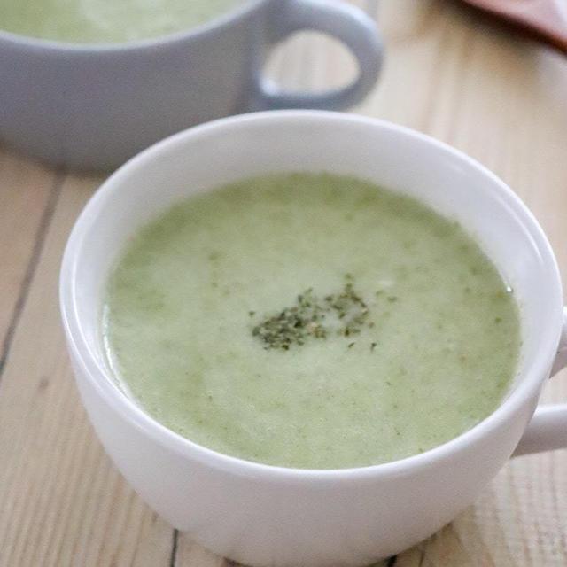 簡単豆乳白菜ポタージュスープ