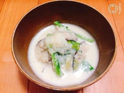 鶏だしで激うま!丸ごとカブのとろとろホワイトスープのレシピ