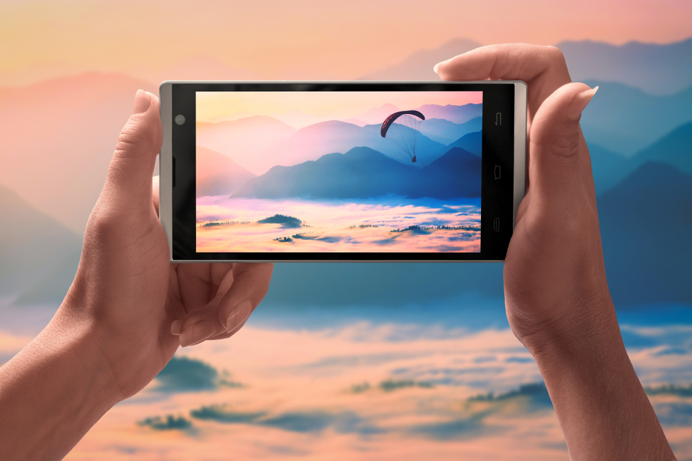 風景写真の撮影