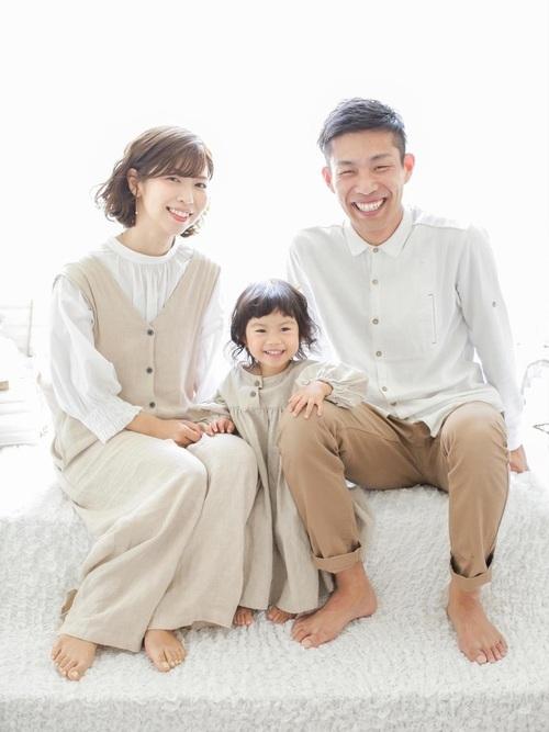 家族写真におすすめのカジュアルな服装