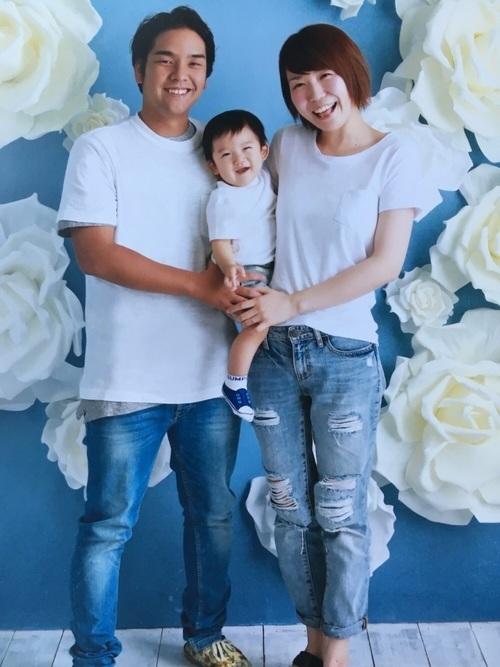 夏におすすめの家族写真の服装