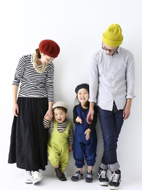 冬におすすめの家族写真の服装