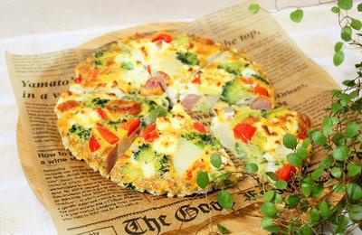 クリームチーズ入りスペイン風オムレツのレシピ