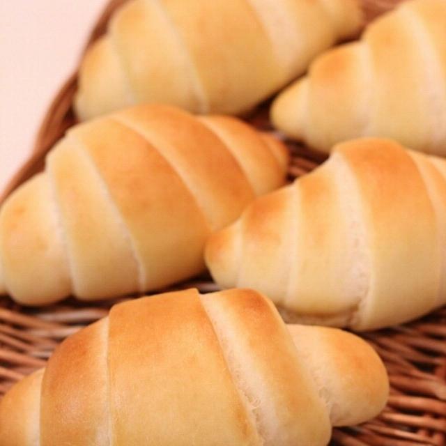 米粉のバターロールのレシピ