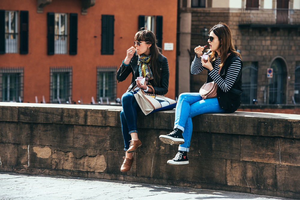 イタリアの女性の服装