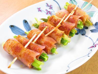 カレー風味のアスパラベーコン♪お弁当に☆のレシピ
