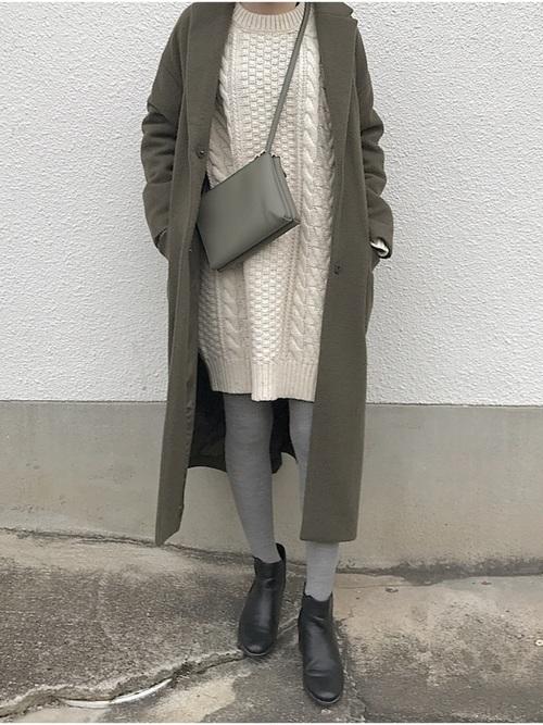 チェスターコートを使った宮崎の服装