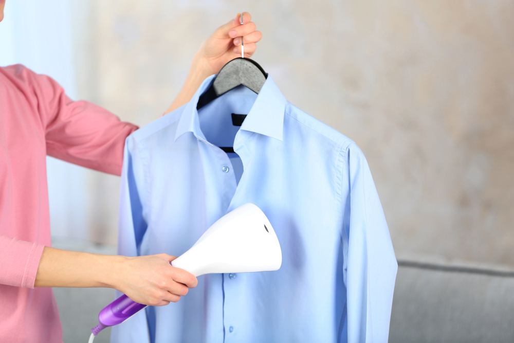 ワイシャツのアイロンがけ