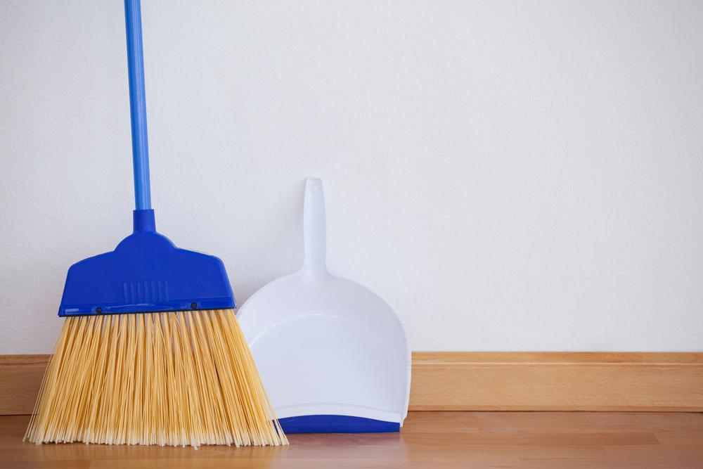 ベランダの掃除道具