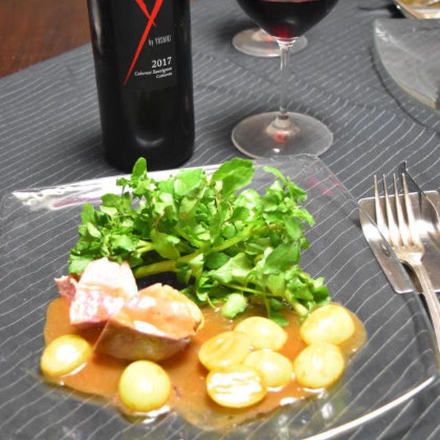 鴨のグリルのシャインマスカットソース。簡単アニバーサリーおつまみ。のレシピ