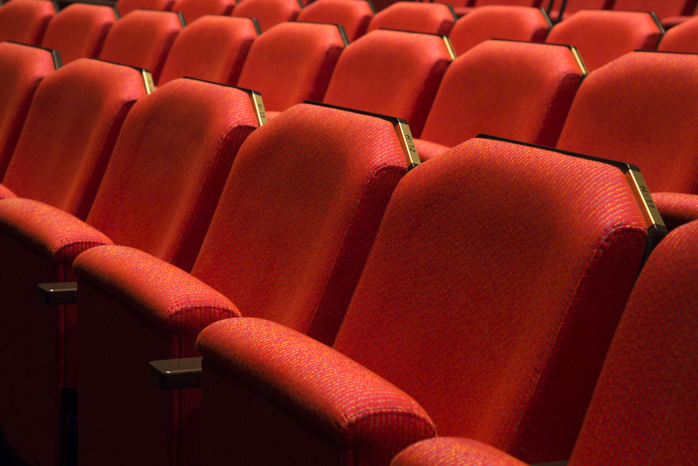 劇場のイス