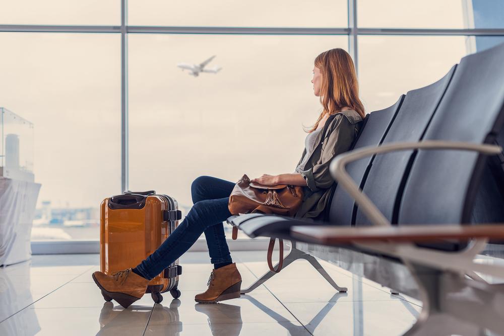 失恋から立ち直るために一人旅をしている女性