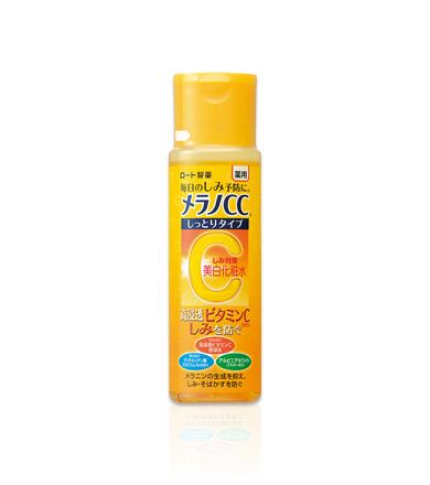 ロート製薬の「メラノCC 薬用しみ対策 美白化粧水 しっとりタイプ」