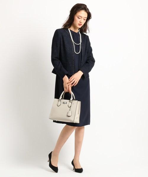 結納の母親の服装におすすめのバッグや靴