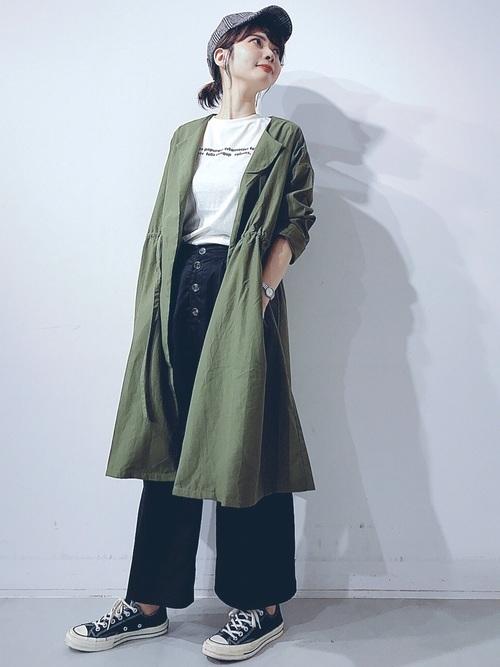 薄手のコート