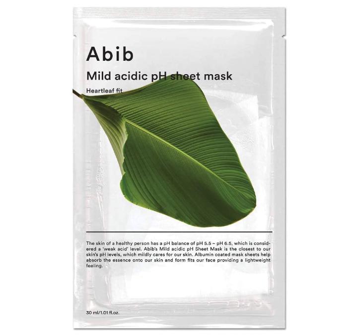 Abib(アビブ) 弱酸性phシートマスク ドクダミフィット