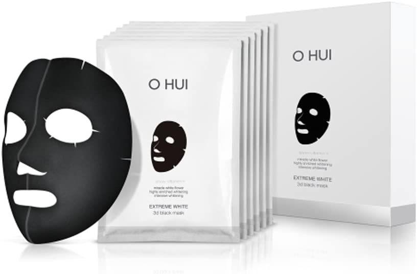O HUI(オフィ) エクストリーム ホワイト 3Dブラック マスクシート