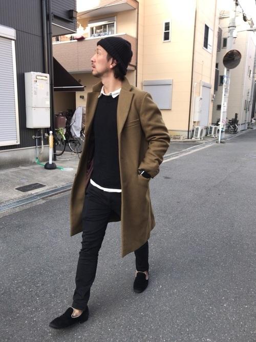 父親参観の服装(黒ベース)