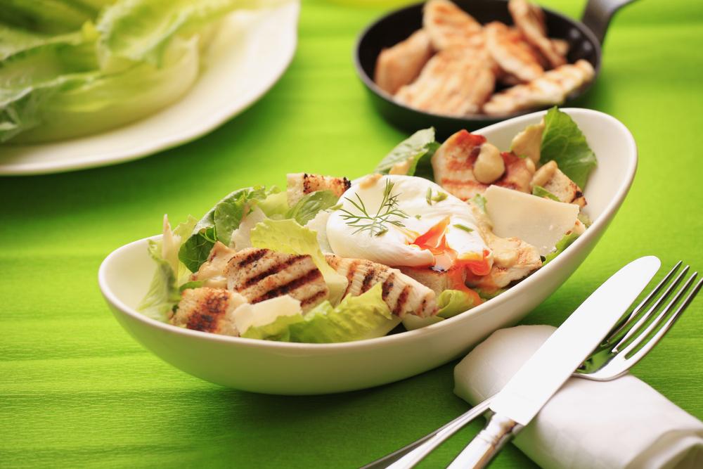 野菜とタンパク質