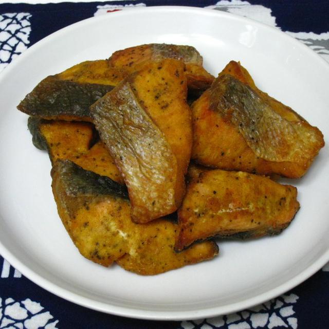 鮭の竜田揚げ カレー風味のレシピ