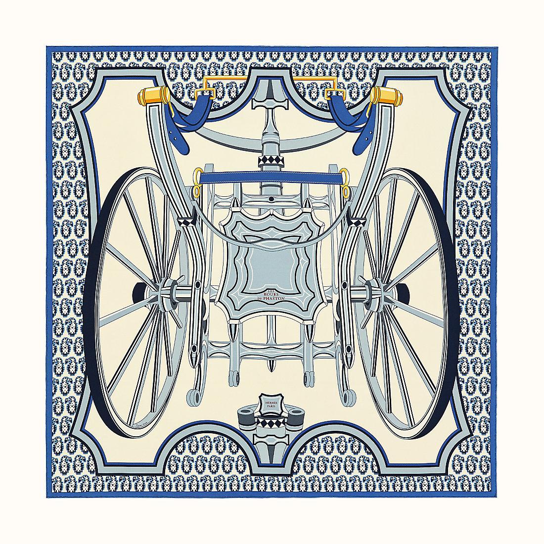 カレ 90 《四輪馬車の車輪》