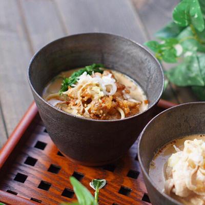 糖質制限*冷やし豆乳担々麺のレシピ