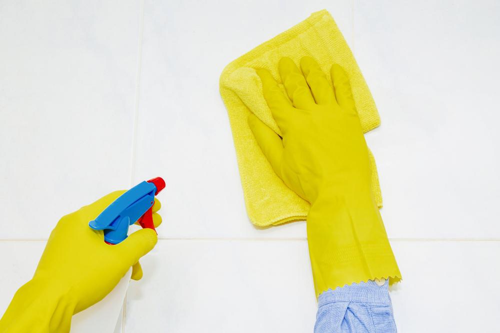 家の中のカビ対策の拭き掃除
