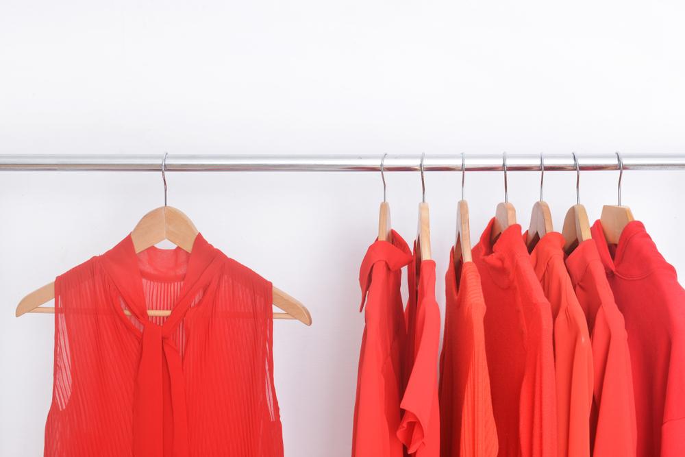 還暦祝いのプレゼントの赤い服