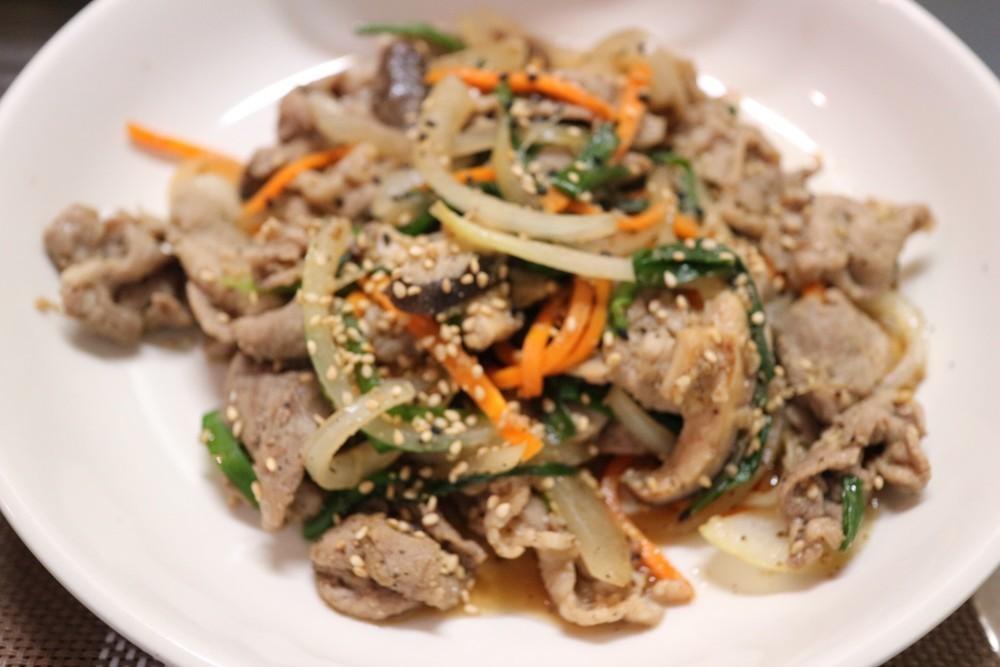 超〜簡単、美味しいプルコギ 韓国家庭料理の写真