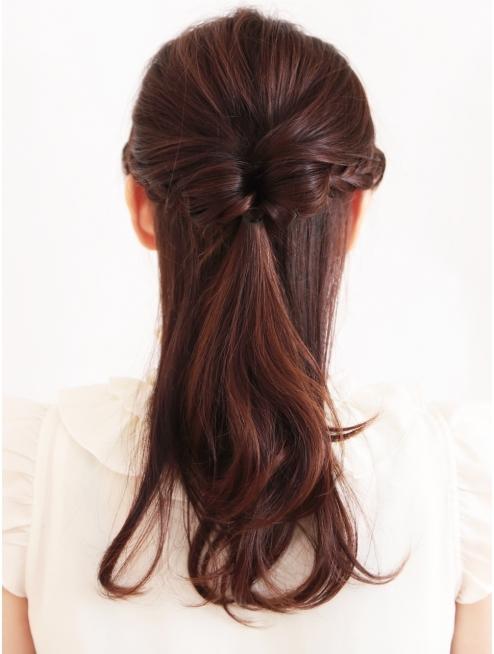 入学式の髪型