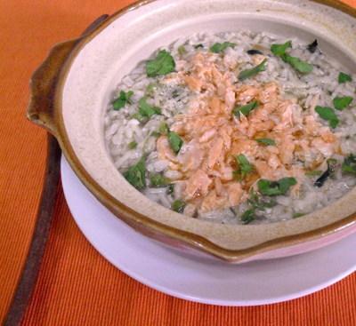 玄米を使った雑炊