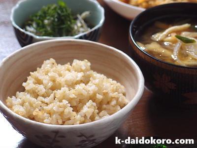 玄米レシピ