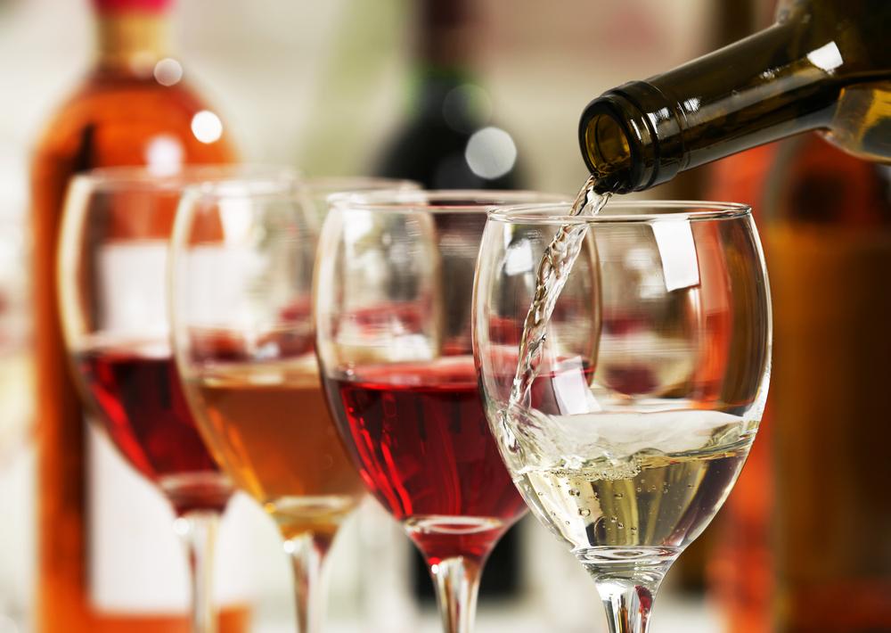 4種類のワイン