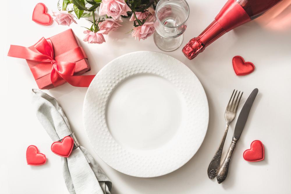 お祝いの日のテーブルコーディネート