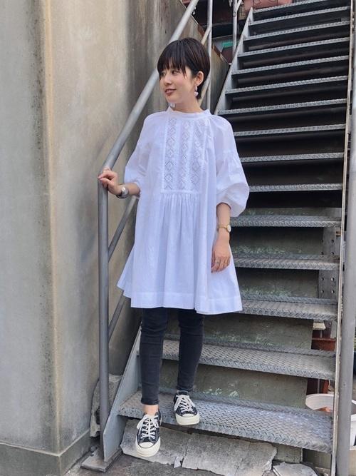 チュニックを使った名古屋の服装