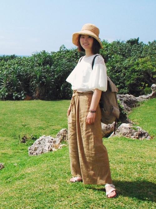 宮古島の5月のコーデ