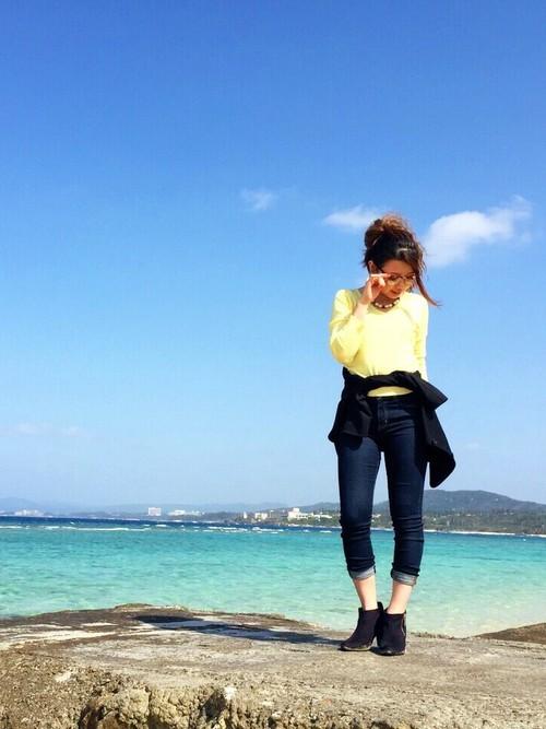 2月の沖縄コーデ