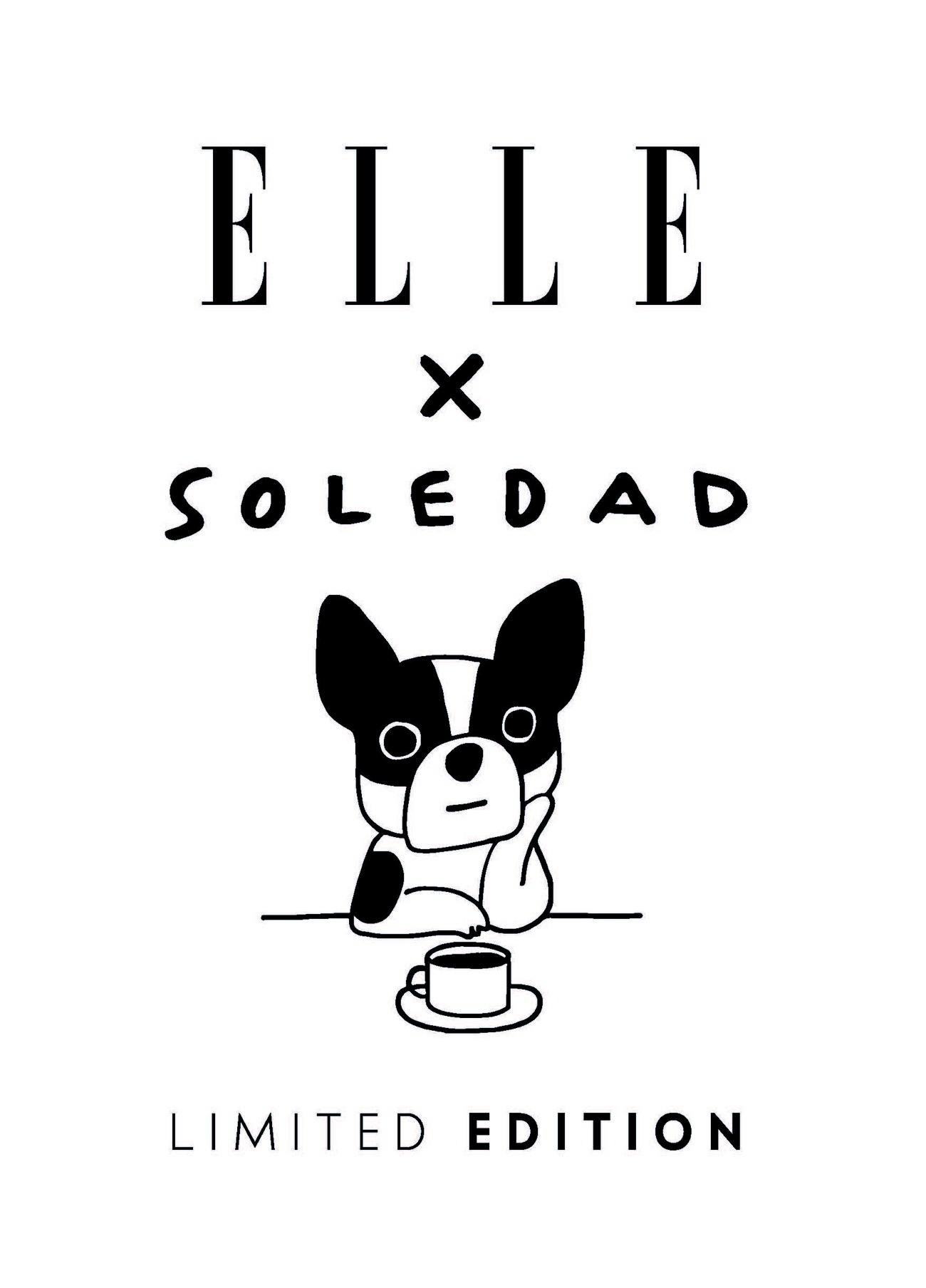 ELLE × Soledadコラボ