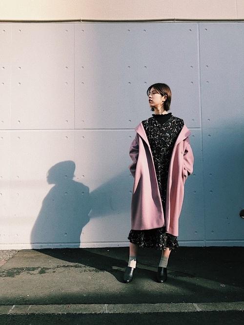 ワンピース×ピンクコート