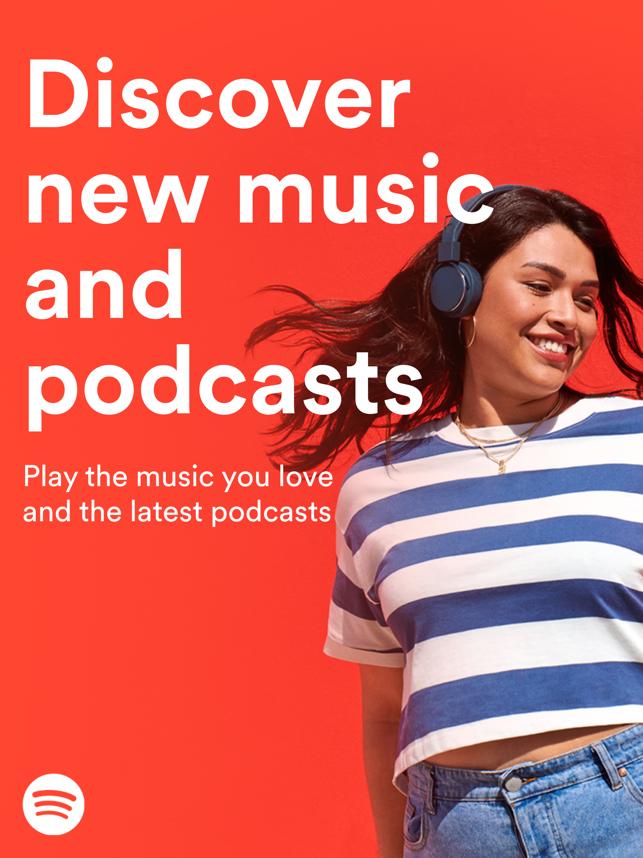 Spotify: お気に入りの音楽やアーティストを聴く