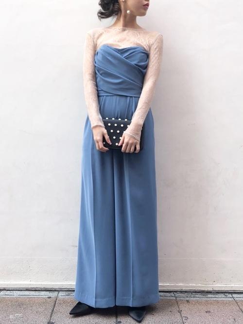 パンツドレスを使った人前式の服装