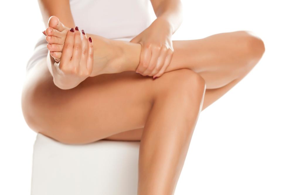 足首のセルライトの改善方法