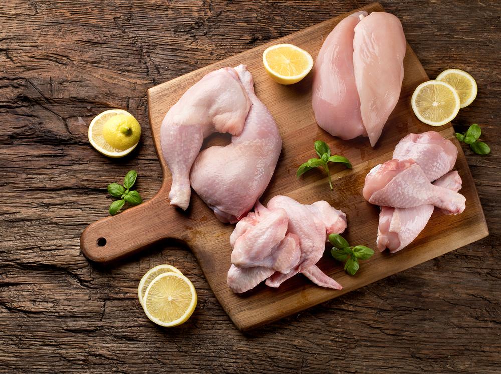 部位別の鶏肉