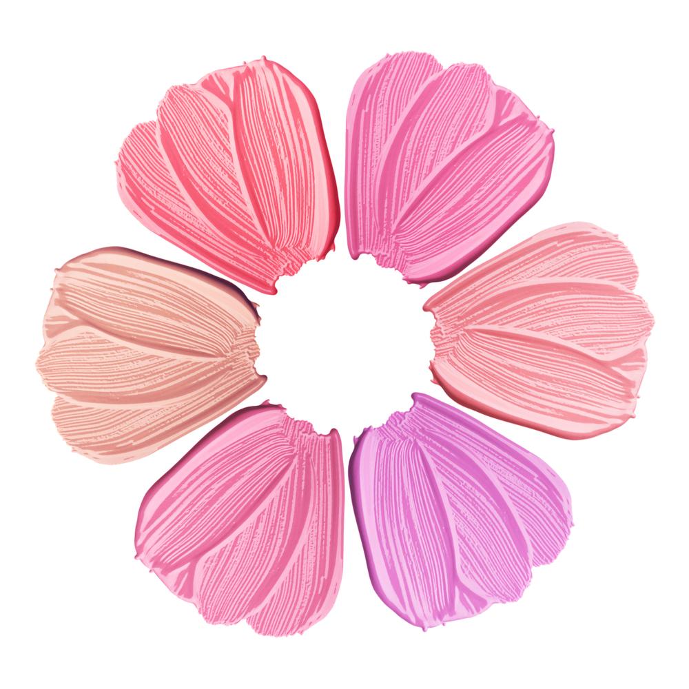 ピンク系のリップカラー